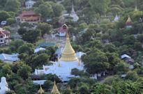 Vista desde la colina de Mandalay.