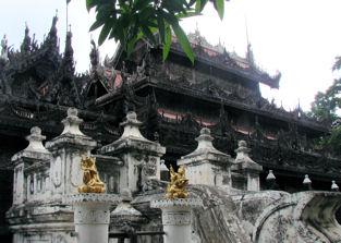 Shwenandan Kyaung en Mandalay.