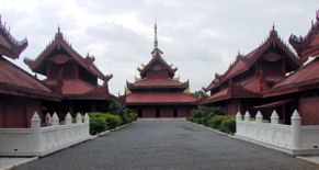 Palacio Real de Mandalay.