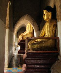 Pagoda en Old Bagan.