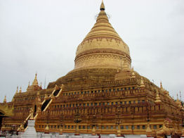 Pagoda de Shwezigon en Nyaung U.