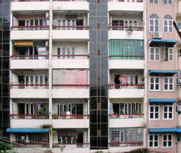 Pisos en Rangún.
