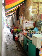 Cinatown. Restaurantes callejeros.