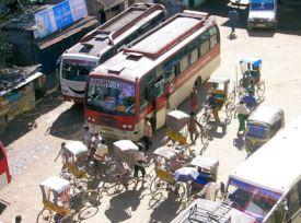 Estación de autobuses de Sílchar.