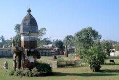 Mausoleos reales.