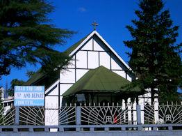 Iglesia presbiteriana de Shillong.